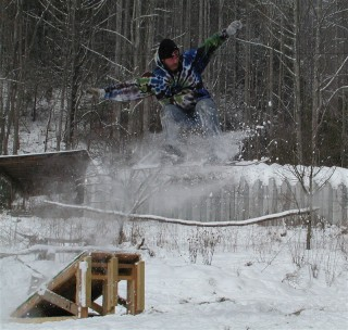 skip snowboarding
