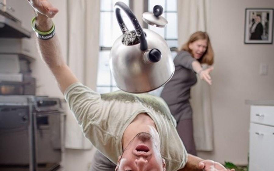 Жена бьет мужа смешные картинки, днем энергетика