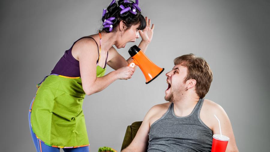 Самое жесткое табу в семейных ссорах...