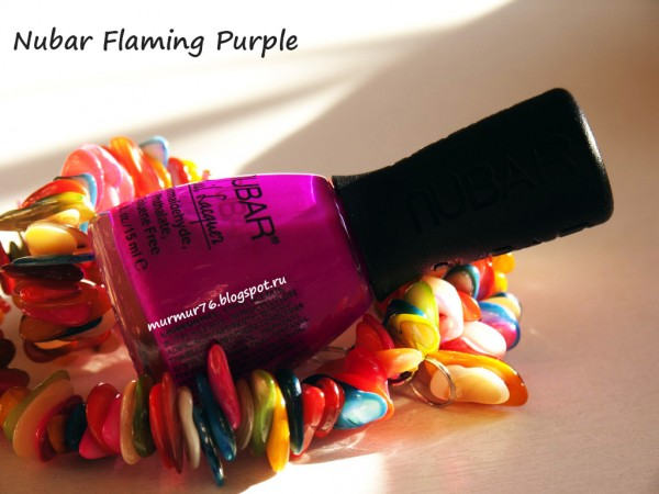 Nubar Flaming Purple