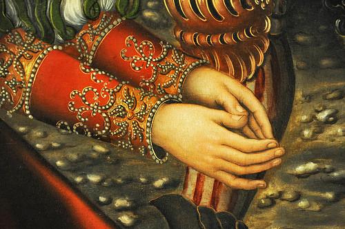 The Martyrdom of Saint Barbara, около 1510 года, Лукас Кранах Старший, Германия