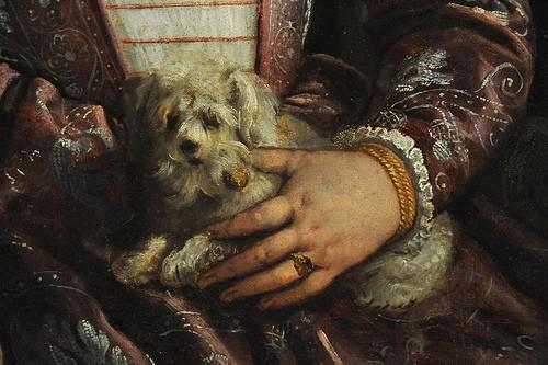Женский портрет Francesco Montemezzano (Италия, Венеция, родился около 1540, умер после 1602)