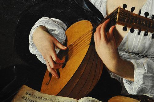 Лютнист Caravaggio (Michelangelo Merisi) (Италия, Ломбардия, 1571–1610)