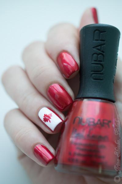 Nubar Cabaret Red и Nubar White Tip