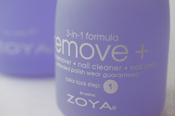 ZOYA REMOVE PLUS жидкость для снятия лака