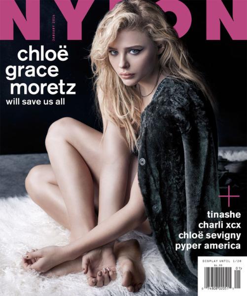 Chloe Grace Moretz Talks Feminism Squads And More For Nylon Cover