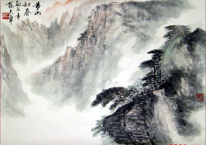 chinese-painting-of-mt-huangshan-d