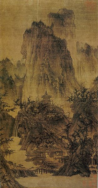 Li_Cheng._Buddhist_Temple_in_Mountain._Nelson-Atkins_museum_of_art
