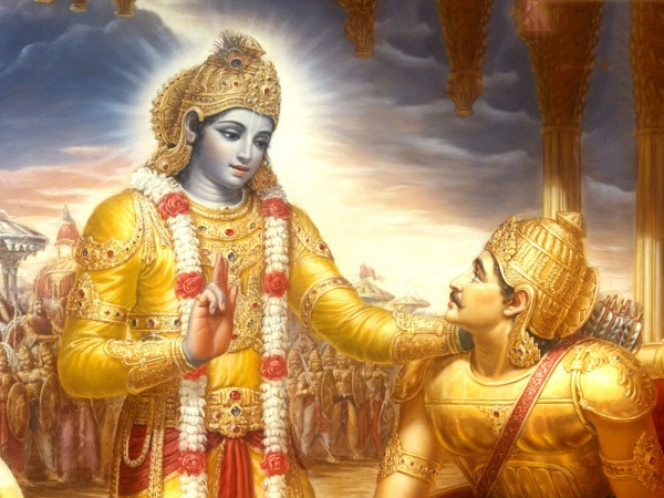 krishna_arjuna-Bhagavad-Gītā-desibantu