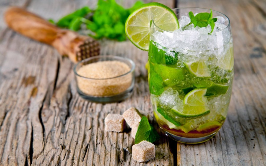 Безалкогольный мохито в домашних условиях на воде