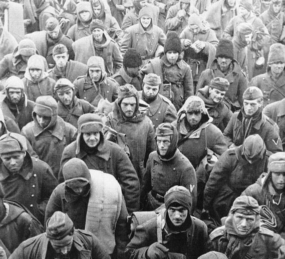 немцы под сталинградом фото