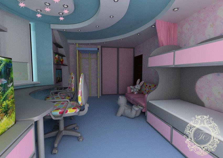 Как сделать не дорого детскую комнату