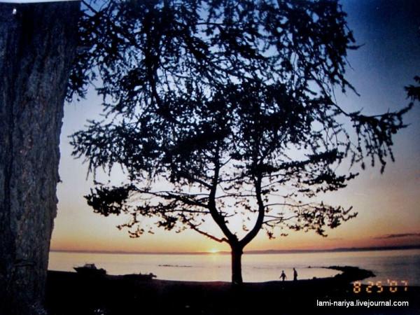 Озеро Байкал. п.Новый Энхалук. 25.08.2007. 007
