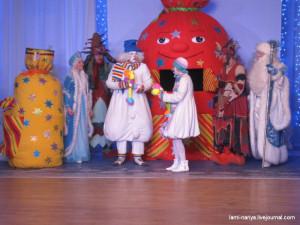 Новогодний утренник в театре Теремок.  023