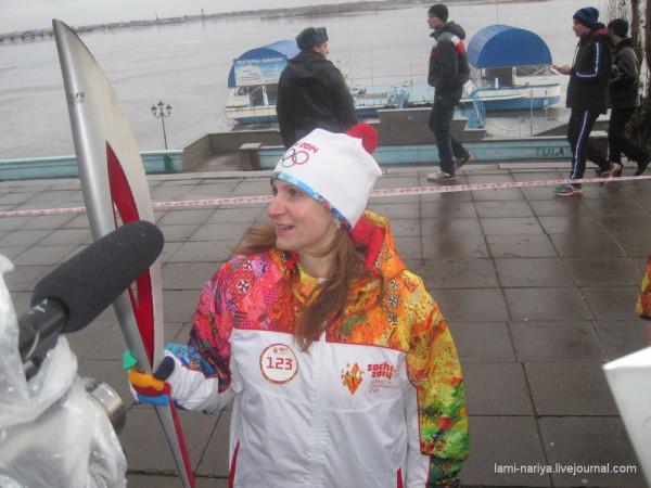 Эстафета Олимпийского огня - 11 января 2014г. 063