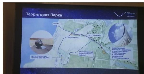 ПАРК ПОКОРИТЕЛЕЙ КОСМОСА им. ЮРИЯ ГАГАРИНА.