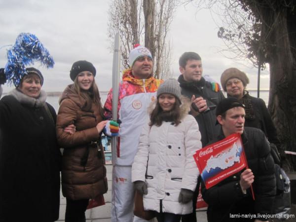 Эстафета Олимпийского огня - 11 января 2014г. 054