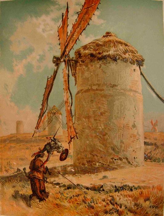Рикардо Балака. Дон Кихот, 1880