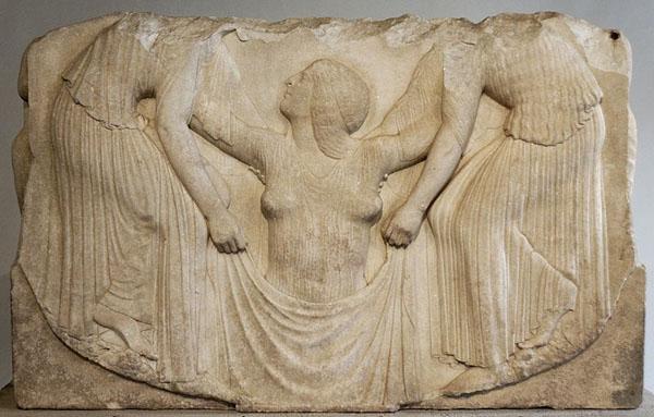 Барельеф Афродиты Урании, 2 в. до н.э.