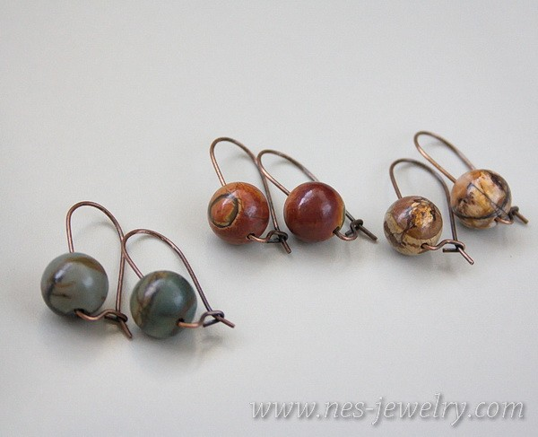 Earrings jasper picasso 11