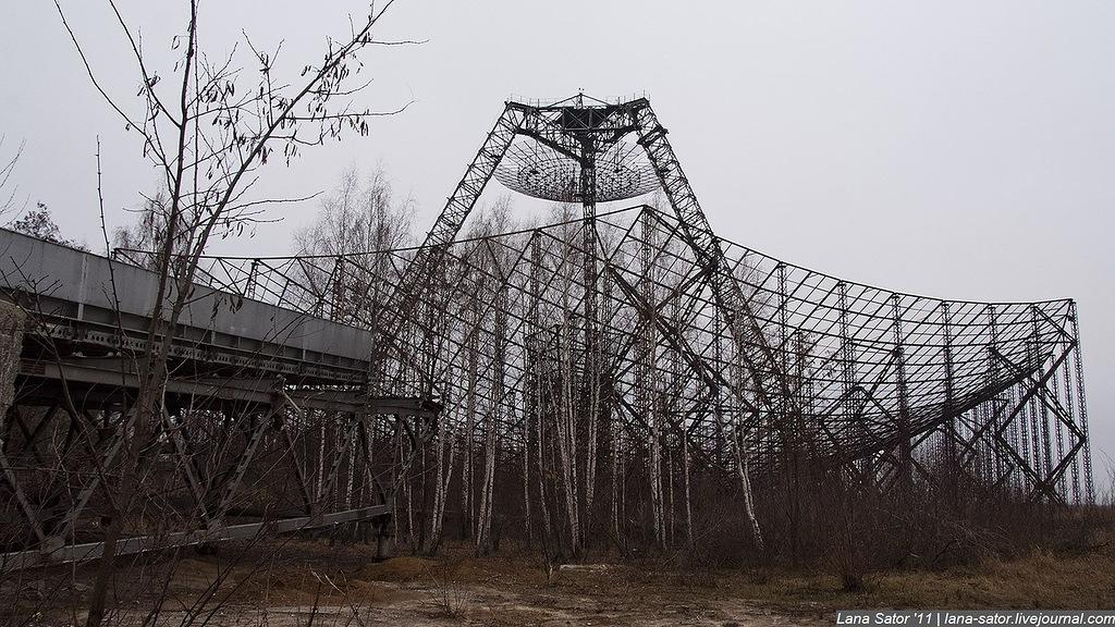 Заброшенные места СССР Станция изучения ионосферы