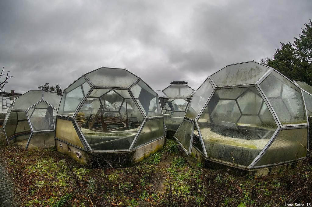 заброшенные теплицы марсианские модули