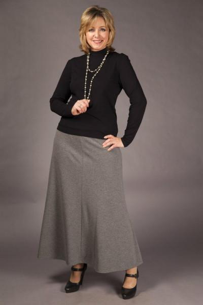 Ставим акцент на достоинстве или какие юбки подходят пышным девушкам с типом фигуры песочные часы