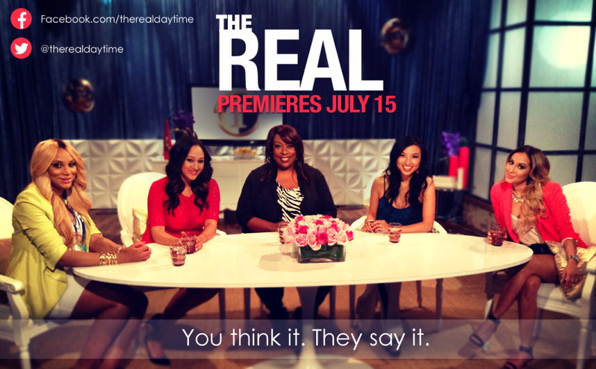 First Look: The Real' Talk Show With Tamera Mowry-Housley, Tamar Braxton And Adrienne Bailon ...