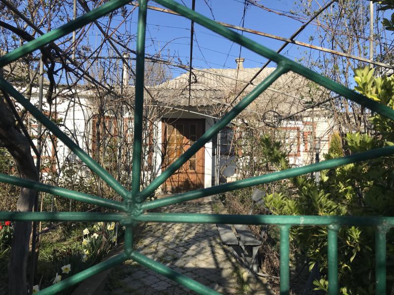 К родительскому дому на педыдущей фотке,дети пристроили сразу и летнюю кухню и будку.