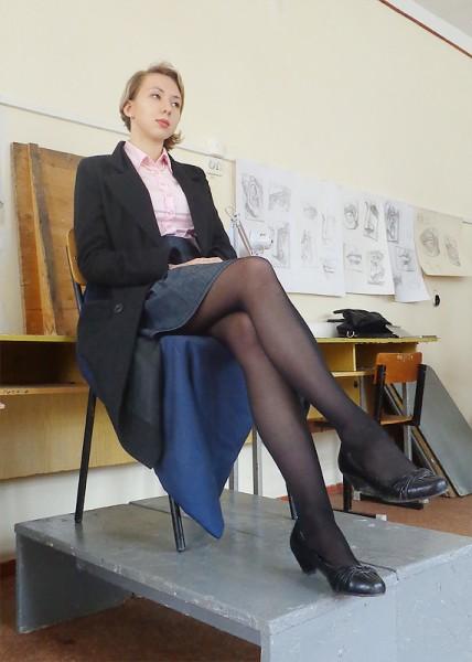 45 юбка задранная