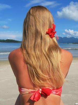 Защита волос от солнца и солей LANZA