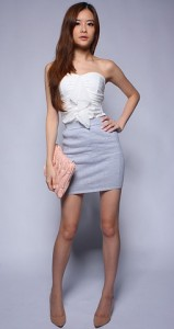 Knit-bandage_skirt_grey