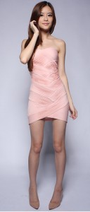 Lantern Premium Pleated Tube Dress1