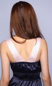 Satin Drape Dress3