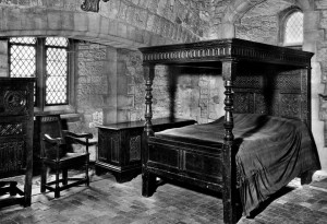 bed, chamber
