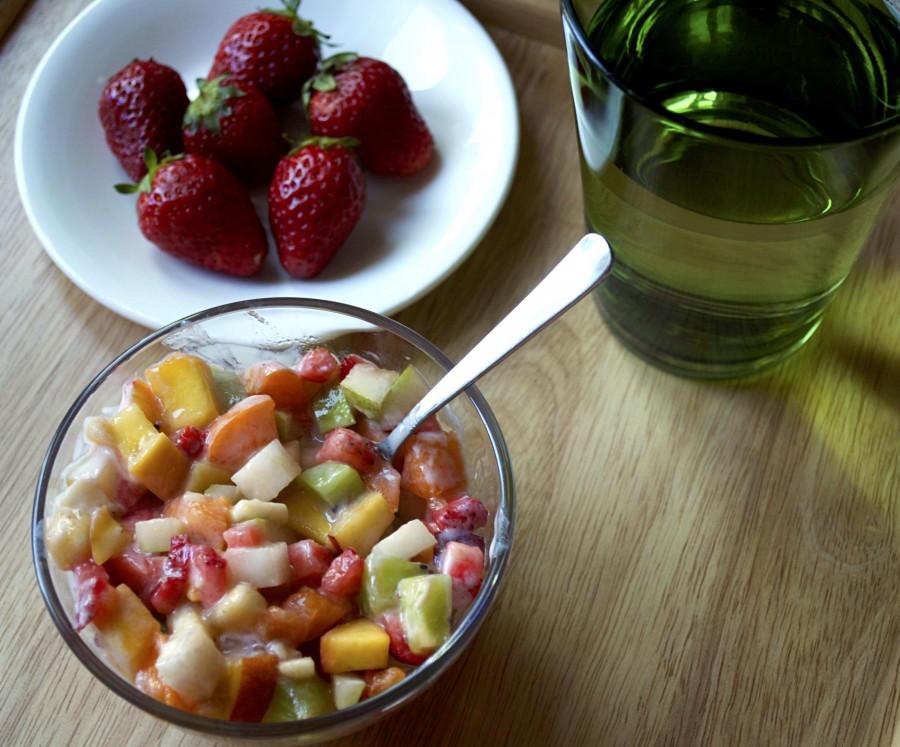 Диета с фруктовыми йогуртами