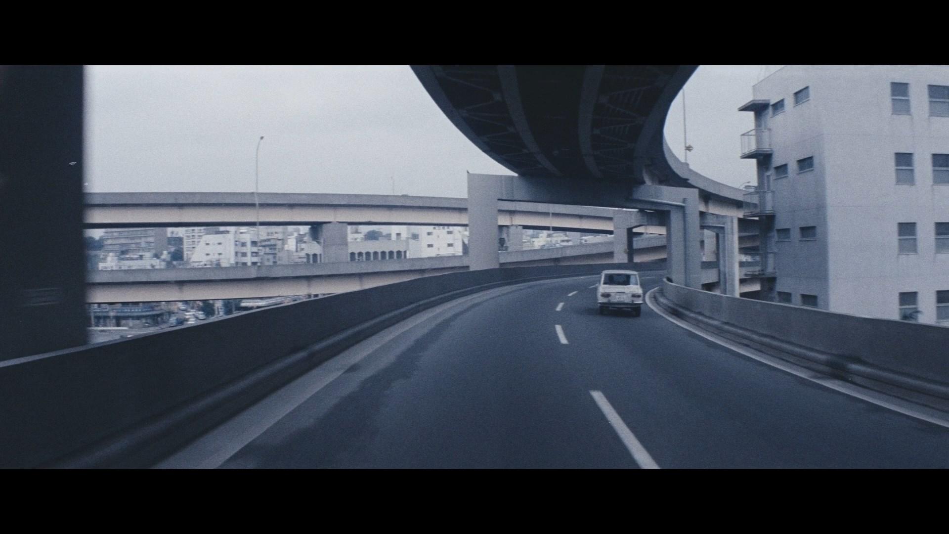 Обои трассы, дома, Япония, путепровод. Города foto 9