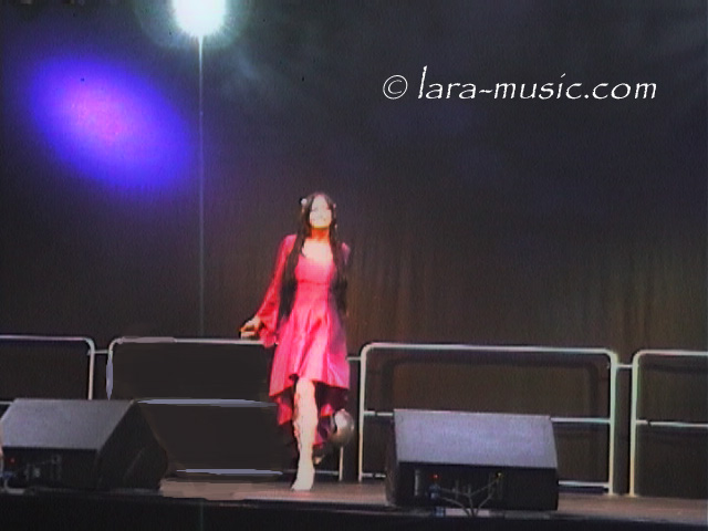 Lara Meltemi in concert, Germany