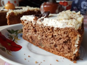 Яблочно-ореховый торт от  Марии Гайковой