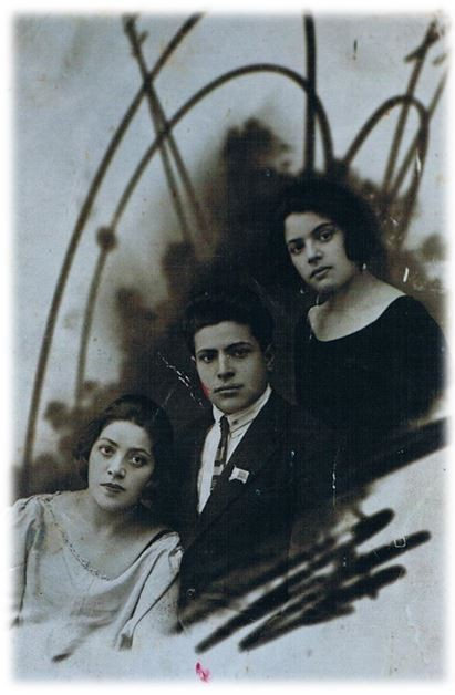 Luba, Iosif, Tzilia Pipko