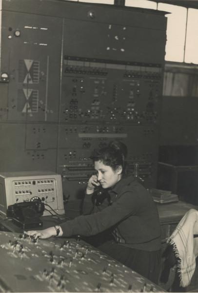 Люба-оператор дробильной фабрики, 1960