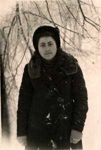 Женя, 1957 год