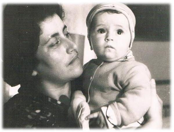 Женя и Лена Мандельбаум, 1964 год, Могилёв