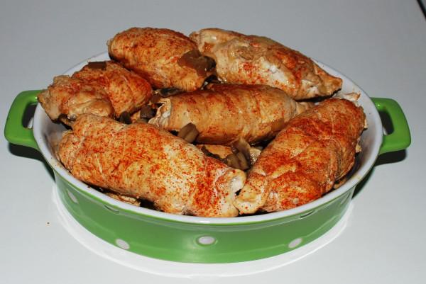 Мясо с грибами 004