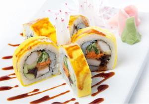 Жёлтые суши