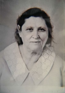 Бабушка Сарра Наумовна Лопатина, 1991 год