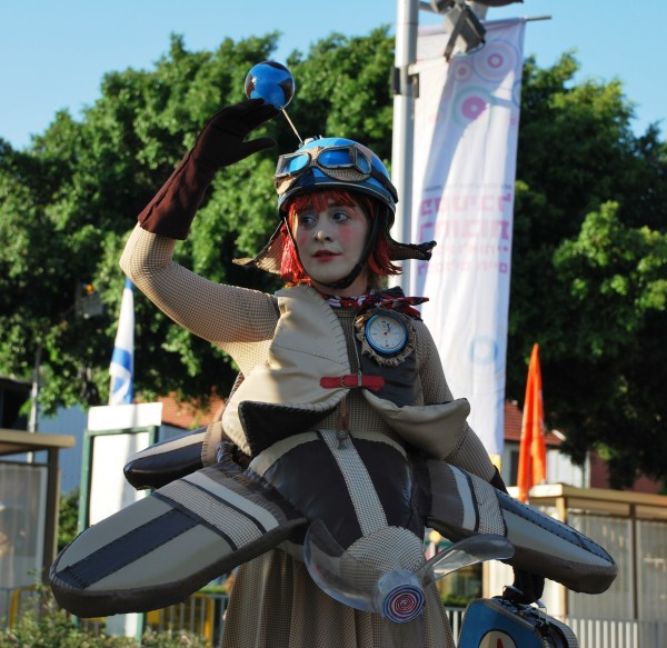 Фестиваль живых скульптур, Реховот, 02.07.2014 012