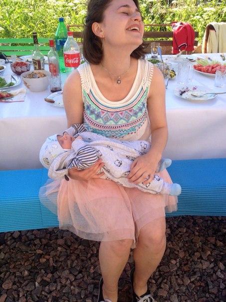 терезка и младенец