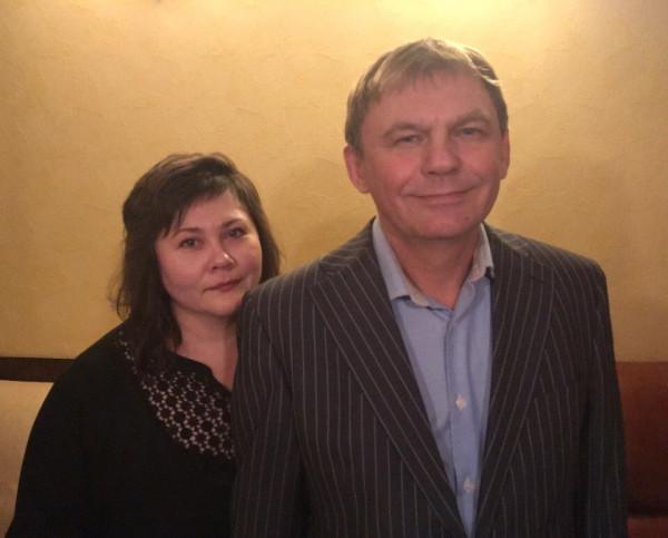 Vova and Lara.Russia