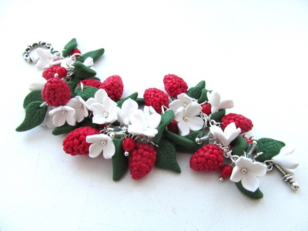 браслет ягода малина